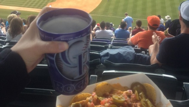 Secret Nachos at Coors Field
