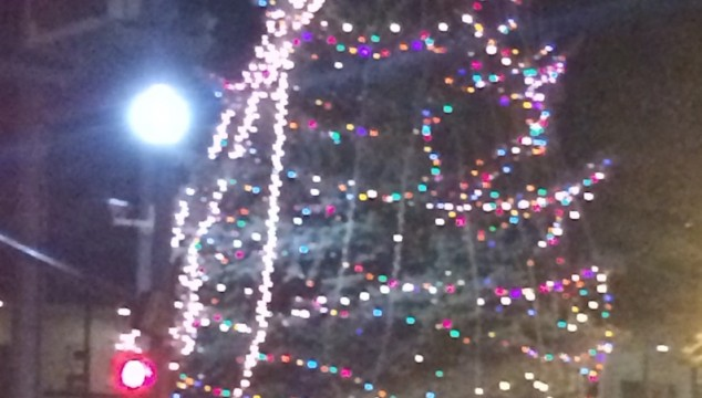 Festival of Lights: Grab a snack downtown to warm up after the parade