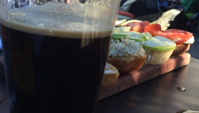 Beer and Bruschetta