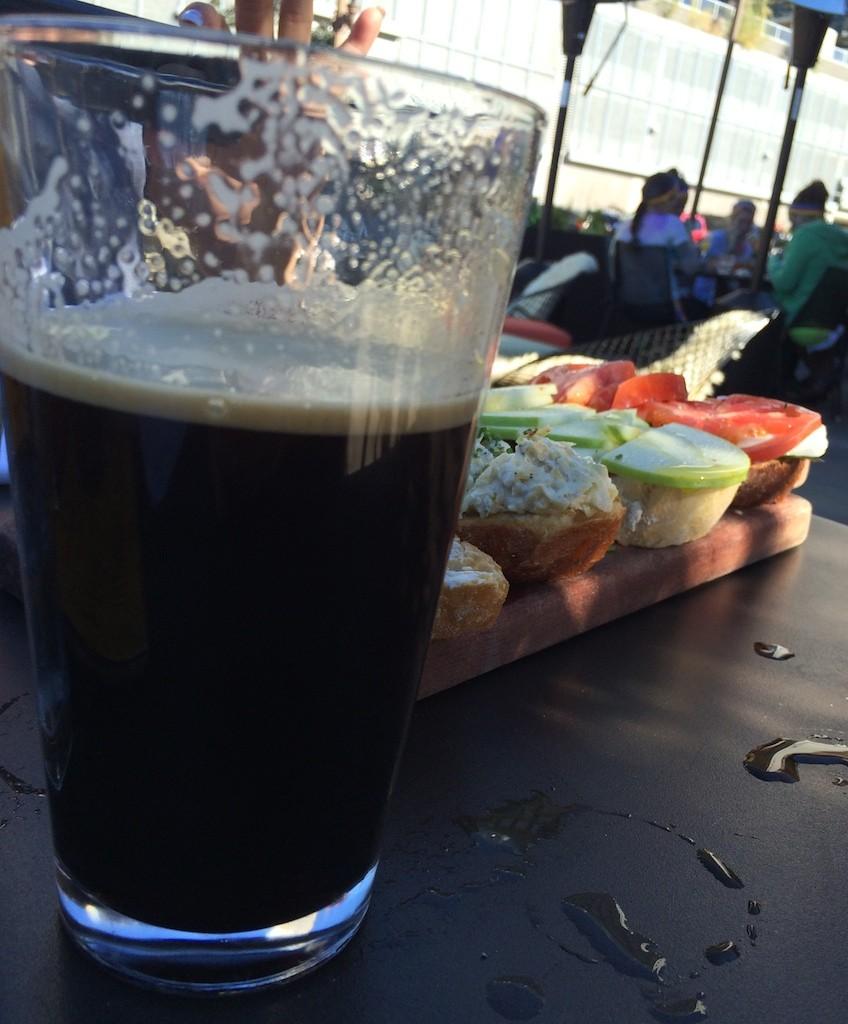 Beer and Bruschetta