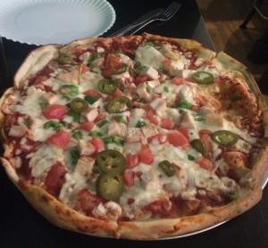 Shaes whole pizza