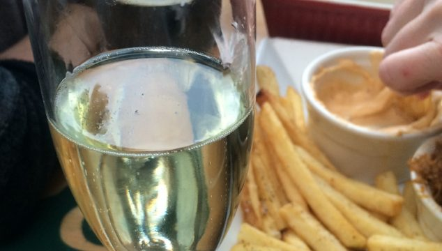 Cava and French Fries from Nosh