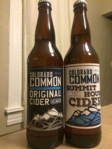 Colorado Common Bottled Cider
