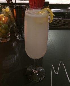 French 75 with Lee Spirits Gin