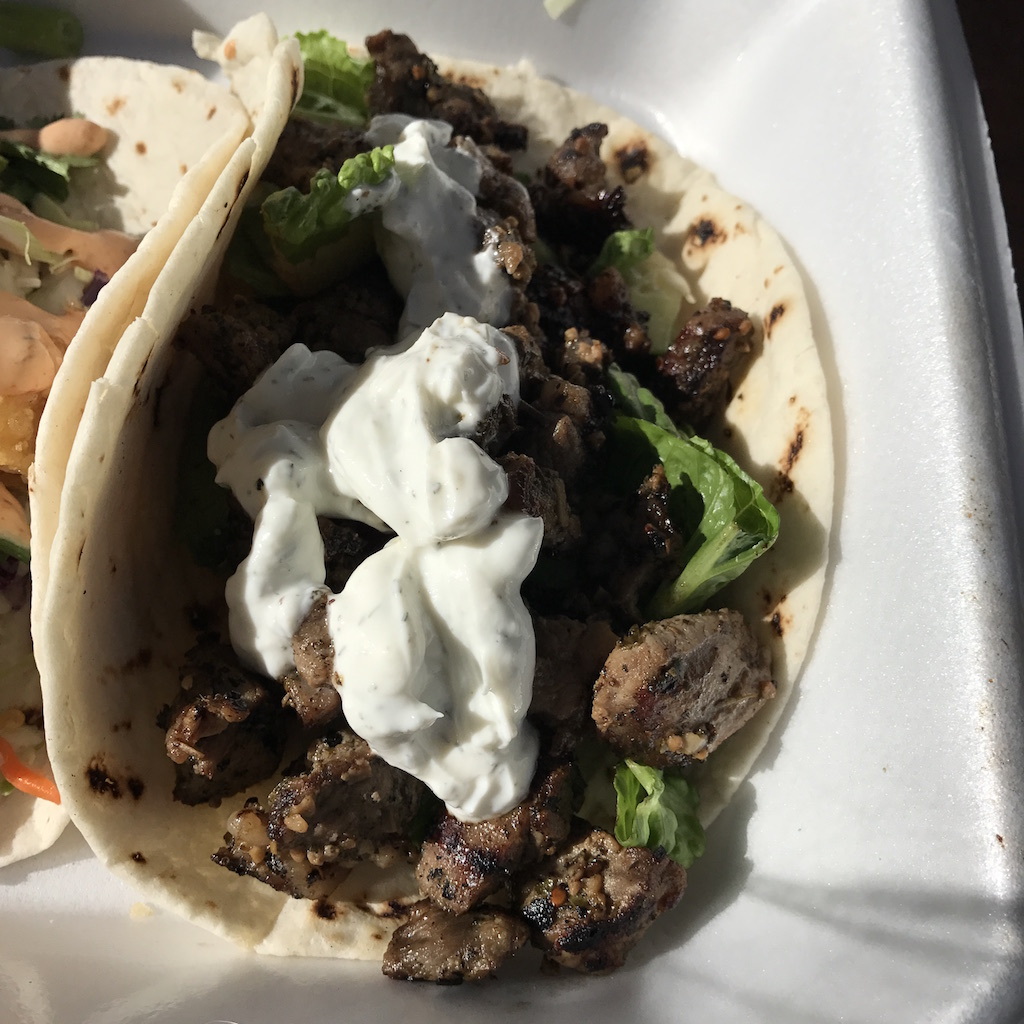 Greek Lamb Taco