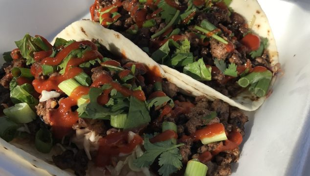 Korean Bulgogi Steak Tacos