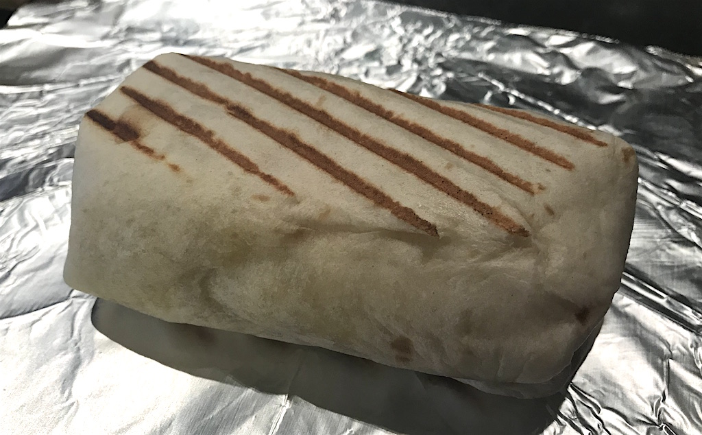 Potato, Egg and Cheese Breakfast Burrito