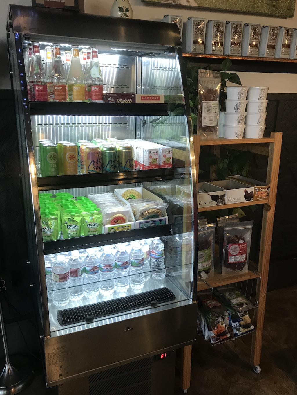 Grab-and-Go Cooler and Snacks