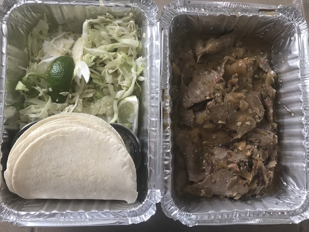 Carne Asada Tacos Packaged