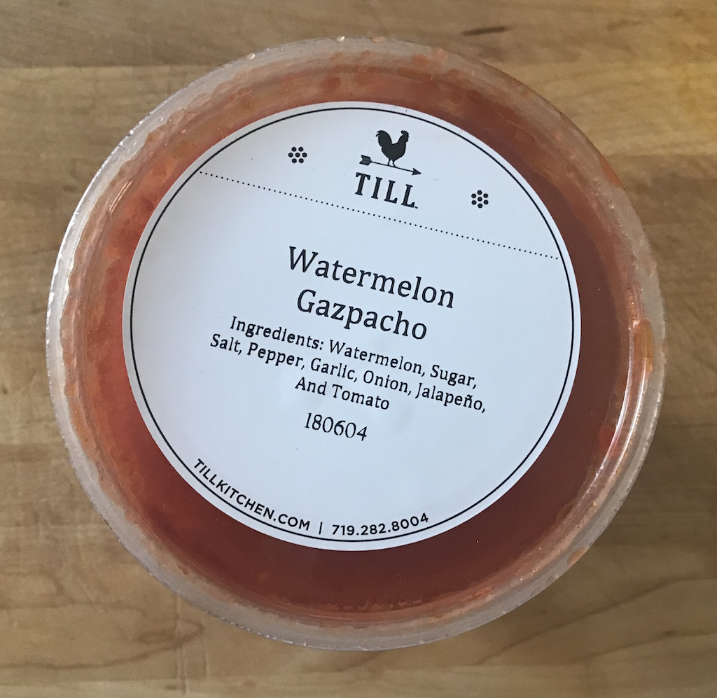 Watermelon Gazpacho Packaged