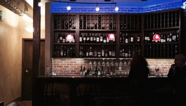 OCC has a hidden wine bar and it's awesome.