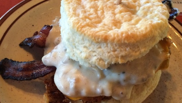 Don't wear tight pants to the Denver Biscuit Company.